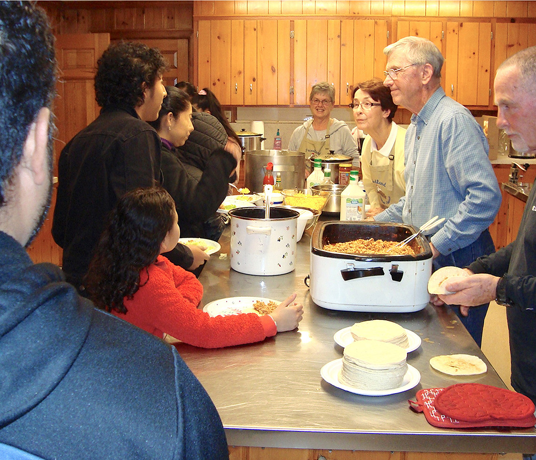 Moravian Ministries Foundation in America Giving Portal food kitchen