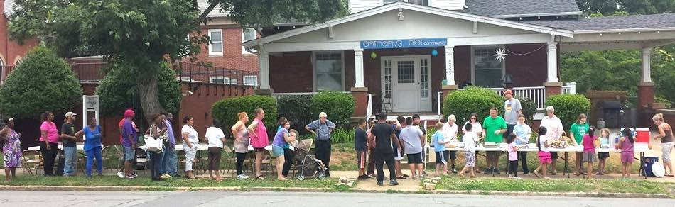 Anthony's Plot Community, a new and emerging ministry in Winston-Salem, North Carolina